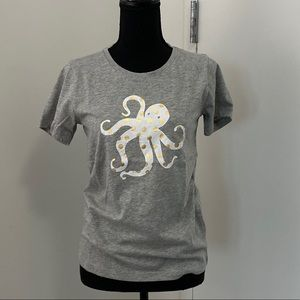 J Crew Octopus Collectors Tee Small New